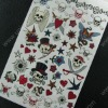 Temporary Tattoo-Pirate for Body Decoration (UNIC-TTS079)