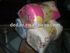 Kids Travel Fleece Blanket With Printed Pattern