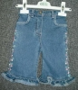 Baby denim jeans trousers pants