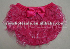 red glitter bloomer
