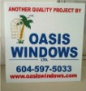 outdoor pp plastic sign board