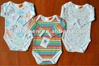 2012 100% Cotton baby romper