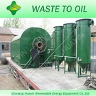 Environment friendly and free pollution from waste tyre to diesel pyrolysis and distillation machine