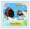 230 volt mini powerful electric heater fan 9KW -MSH10-90H