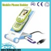 rotatable mobile holder phone holder with1 ports USB HUB