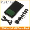 12000mAh Power Bank for ipad,iphone,smart phone with 1Year Warranty
