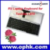 Wholesale for Russia RU Layout Laptop Notebook Keyboard for Toshiba Satellite C650 C655 L650 L655 L670 L675 Series