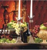 CH-235,crystal candlestick for home decoration