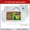 4.3 inch touch screen game player,support NES,GB,GBA,SMC,SFC,SMD,SFC games