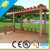 Favorable wpc pergola