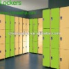LIJIE 3 doors digital high pressure compact laminate locker