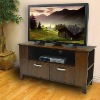 Brown Wood TV Console