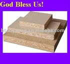 Plain/Raw Colored MDF Chipboard with melamine veneer laminated