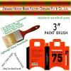 Wood Paint Brush 0131