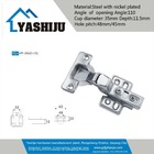 cabinet hydraulic hinge with 110 degree open