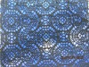 2012 fashion polyester jacquard african lace fabric for dress