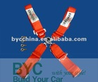 4 Points BRIDE Safety Seat Belts, Racing Seatbelt, Racing Harness( Red)