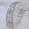 Fashion Rhinestone Bangle Bracelet/ Wristlet