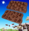 Easter promotion gift silicone chocolate mould