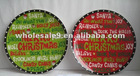 Ceramic Christams Plate/ round plate