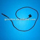 Garment hang tag plastic string
