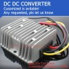 DC DC converter 24v to 12v 10Amax 120Wmax waterproof for Electric car
