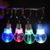 LED Light Bulb Key Chain