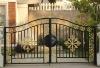decorative outdoor wrought iron gate design
