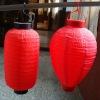 1.2v 0.2w led classic canvas solar lantern