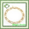 simple golden bracelet interwined bracelet