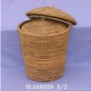 STRAW ROPE BASKET HLAA6059