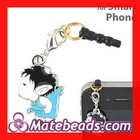 Anti Dust Earphone Jack Plug Cupid Charms For Mobile phone