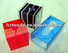 Transparent unique acrylic attractive design tissue paper box