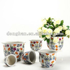 ceramic floor flower planter