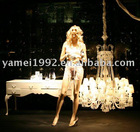 female realistic standing mannequin with wig