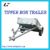 BOX TRAILER WITH TIPPER(LT-161)