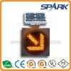 High Power Solar LED Traffic Light