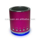 hotsale portable mini speaker with usb & sd slots