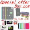 special offer!battery case for iphone 4&4s,buy now,free gift