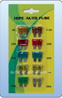10PC Plug-in auto Fuse with blister card