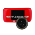 3.0''LCD Digital IR Night Vision Video Front Door Peephole Camera Viewer With Max 16GB TF Card Storage
