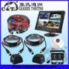"""KT9AF01 9V-40V HD Sony CCD 9"""" Quad 4 Way Car Rearview System also for Truck/Bus/Trailer CCTV"""