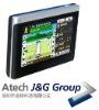 Car 4.3inch portable Gps navigator system