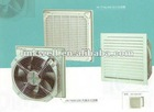 High air flow fan filter unit for cabinet