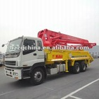 2011 Export to Singapore -- ISUZU 4R37M (Germany Rexroth Hydraulic System) SERMAC Technology Truck-mounted Concrete Pump Truck