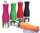 Plastic Electric Pepper Mill ,plastic Electric Spice Grinder, pepper miller-KS-AE03