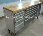 High Quality Stainless Steel Tool Chest Roller Cabinet