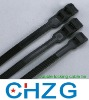 black double locking cable ties