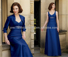 New Discount Spaghetti Straps Pleated Bodice with Crystal Beaded Jacket Included Mother of The Bride Dresses 2013
