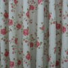 wide width printed curtain fabric